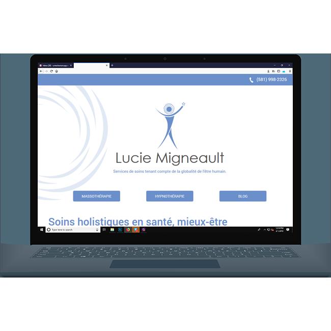 lucie Migneault website